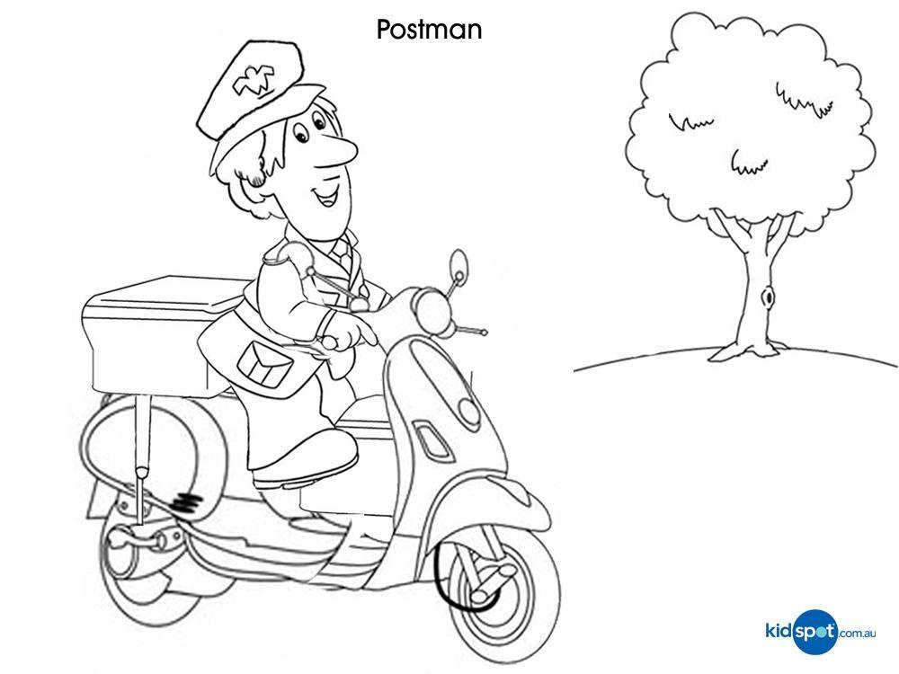 1000x750 Postman Pat Printables