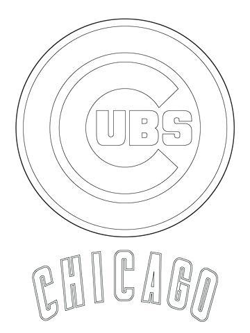 Major League Baseball Logo Coloring Pages At Getdrawings Free Download
