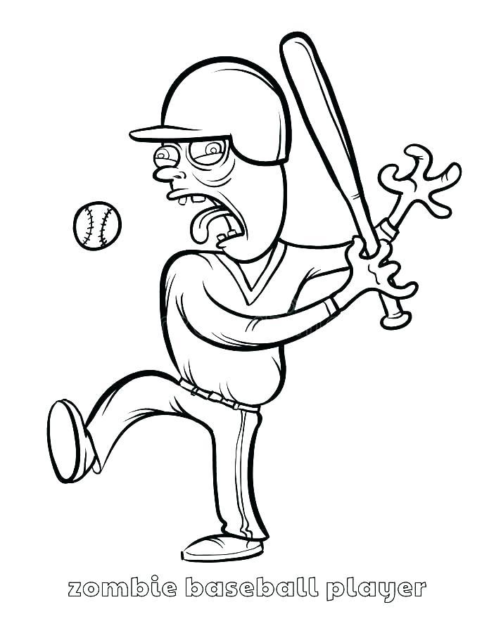 695x900 Baseball Player Coloring Pages Baseball Coloring Pages Baseball