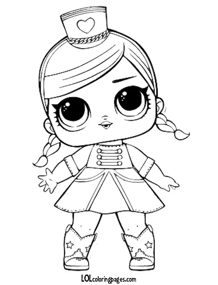 Majorette Coloring Pages At Getdrawings Free For