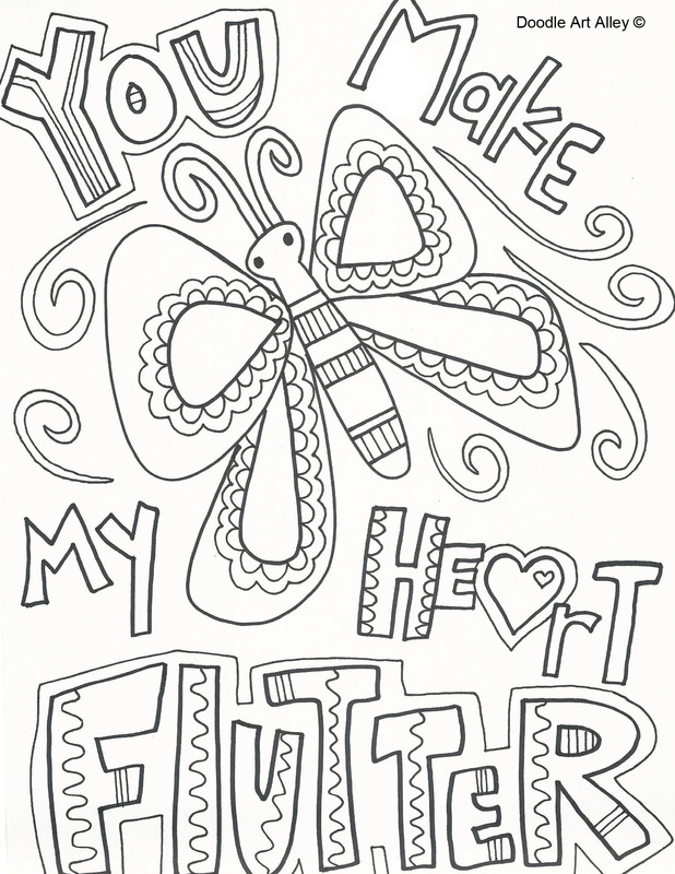618x800 You Make My Heart Flutter Butterfly Valentine Free Printable