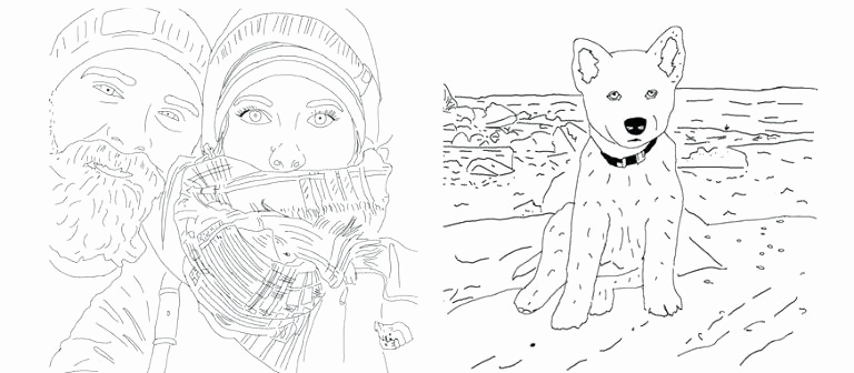 768x336 Turn Pictures Into Coloring Pages Free Online Photos Make Into