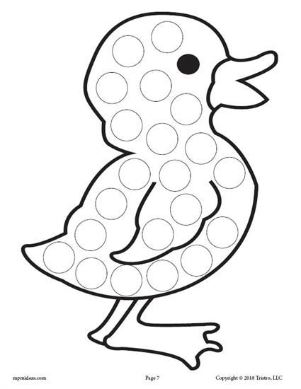 Make Way For Ducklings Coloring Page