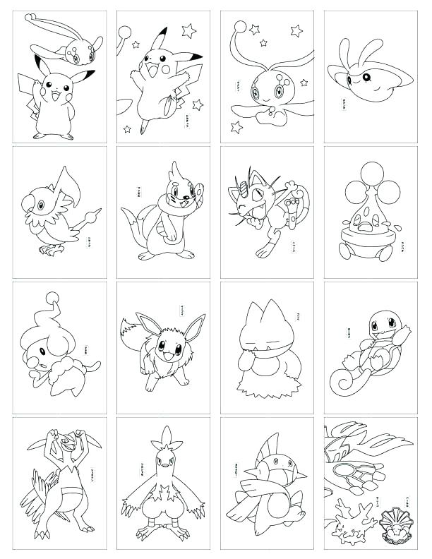 612x792 Pokemon Card Coloring Pages Coloring Pages For Kids Printable