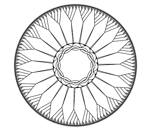 589x502 How To Make Your Own Mandala Coloring Pages For Free, Make Your