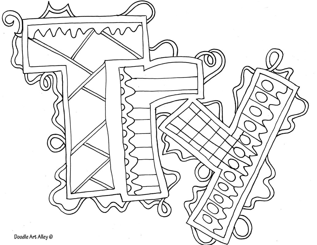 Make Your Own Coloring Pages With Words