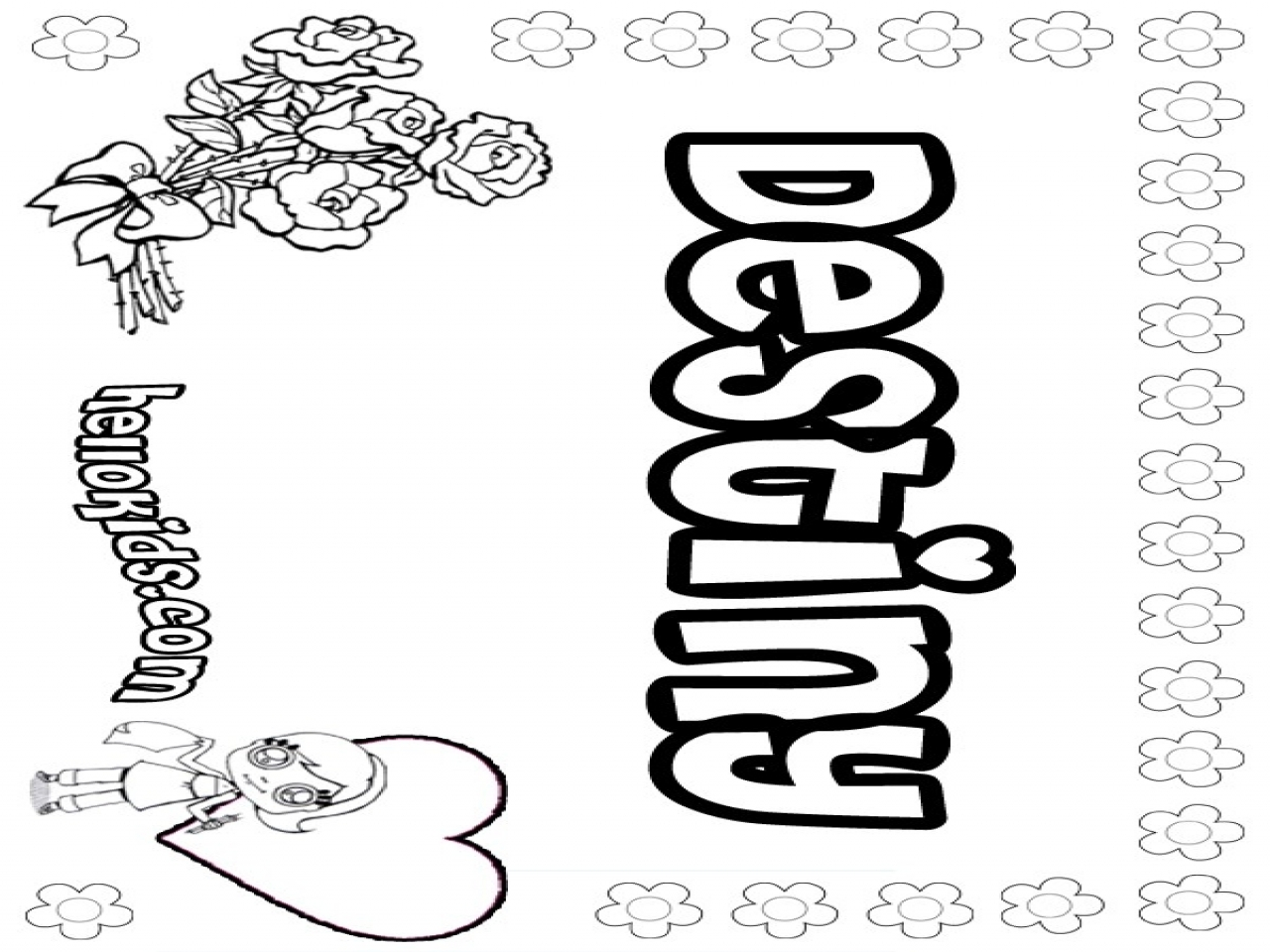 1280x960 Free Printable Coloring Pages Your Name To Print Make Your Own