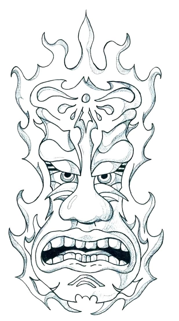 618x1104 Totem Pole Coloring Page Make Your Own Totem Pole Worksheet