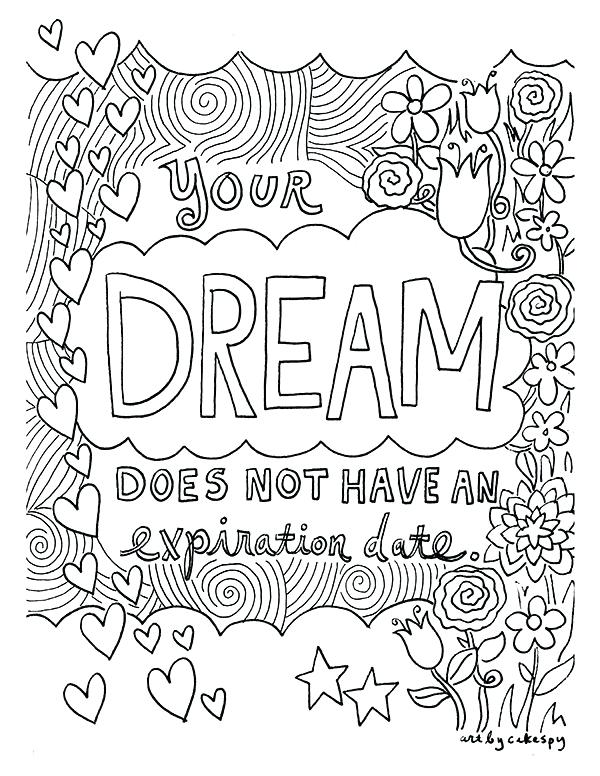 600x776 Coloring Pages With Words Make Your Own Adult Coloring Pages Words