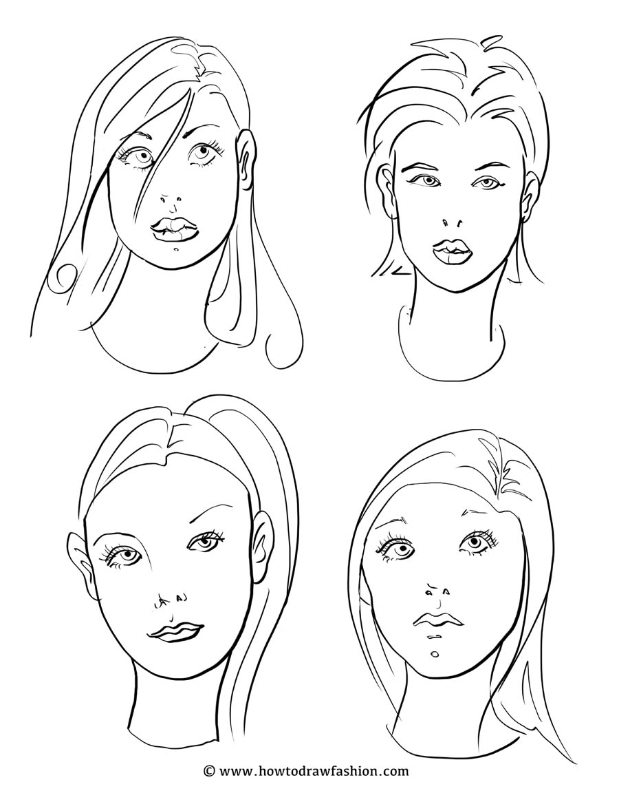 900x1165 Coloring Pages Makeup Faces Make Up Face Coloring Page Coloring
