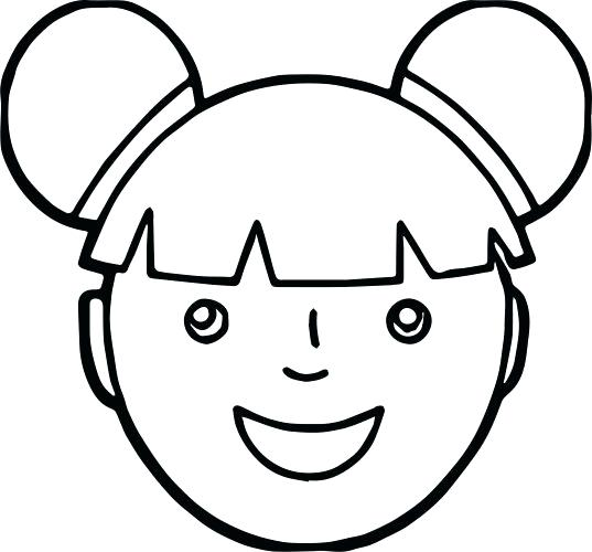 537x500 Makeup Face Coloring Pages Medium Size Of Face Coloring Page Girl