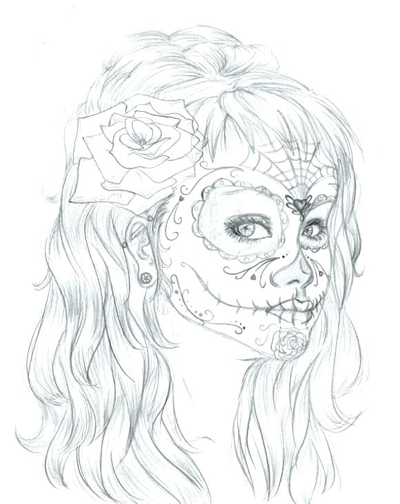 580x730 Self Portrait Coloring Page Makeup Coloring Pages Free Printable
