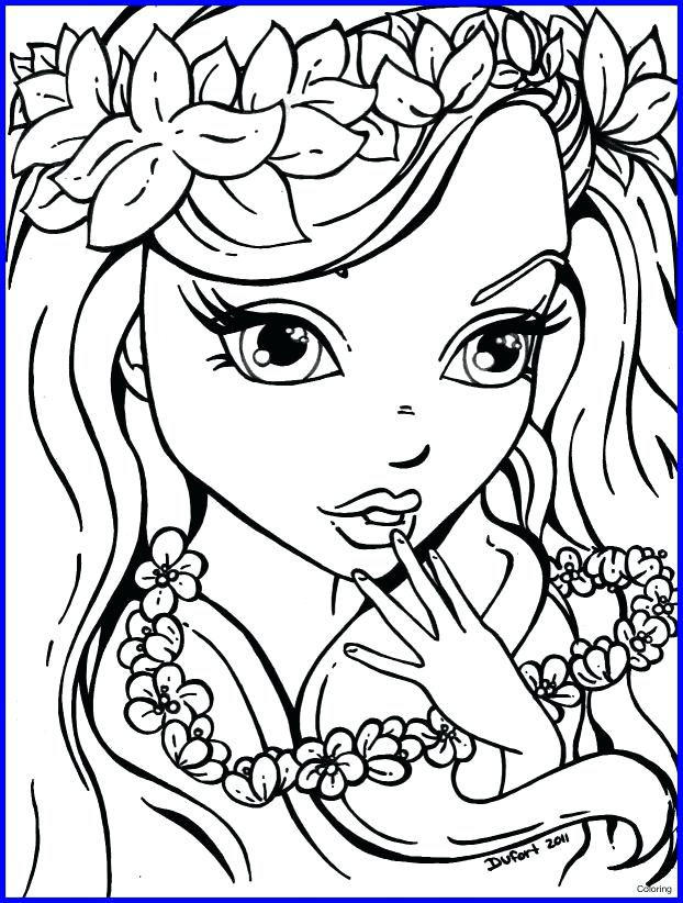 622x822 Makeup Coloring Pages