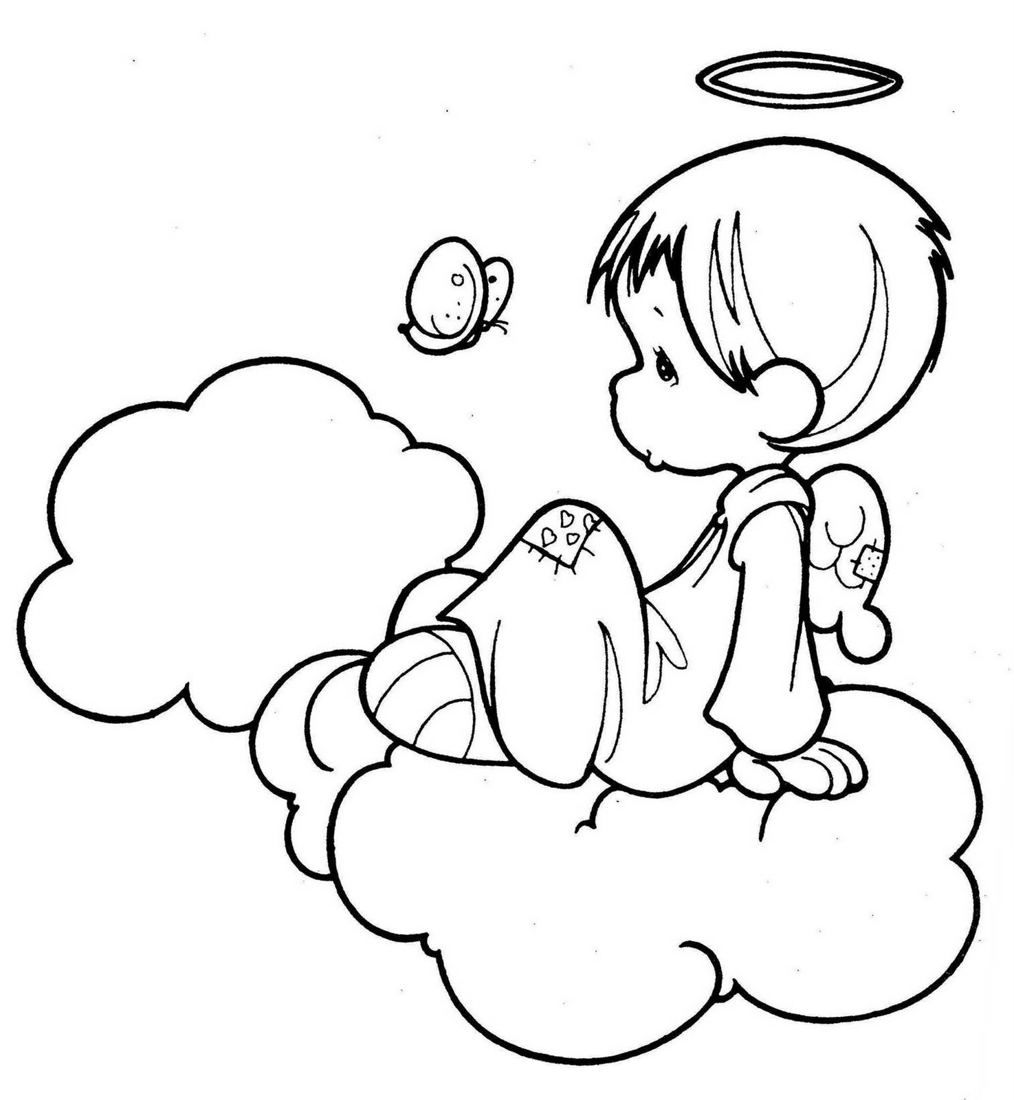 1475x1600 Angels Coloring Pages Beautiful Angel Images Color Free Print Out