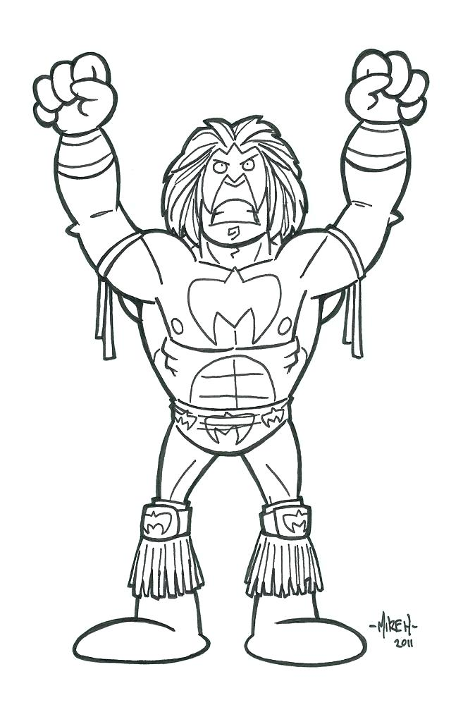 657x1000 Wwe Ultimate Warrior Coloring Pages Sheets Angels Male Angel Ng