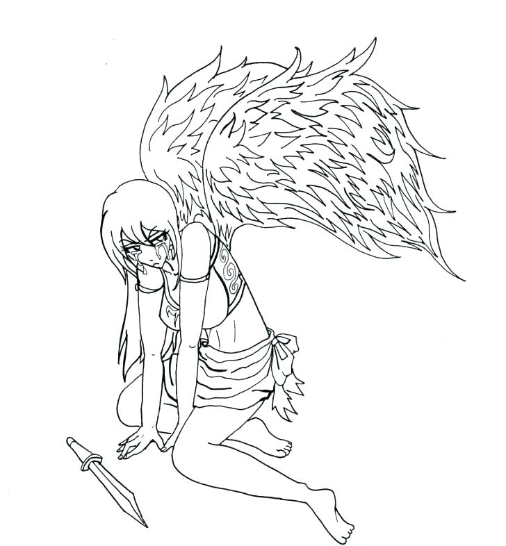 728x786 Angel Coloring Pages For Preschool Angel Coloring Pages For Adults