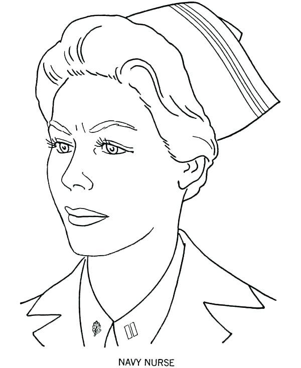 600x734 Nurse Coloring Page Nursing Coloring Pages Photo Gallery Nurse