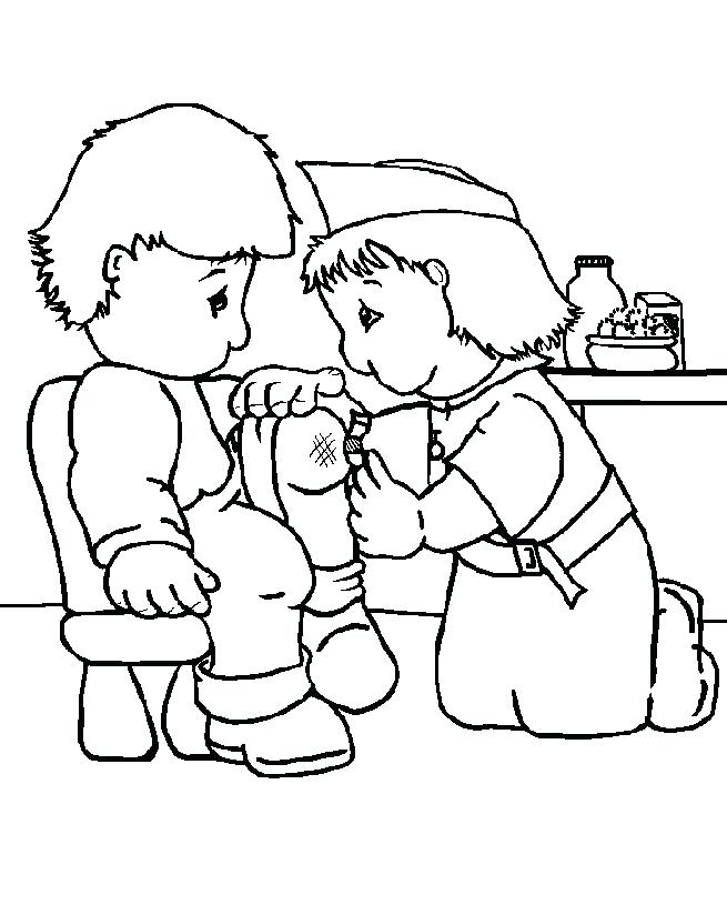 655x815 Nurse Coloring Pages And Top Nurse Coloring Pages For Your