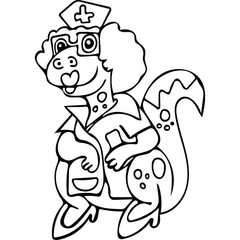 800x800 Nurse Coloring Pages Download Funny Dinosaur Nurse Coloring Pages