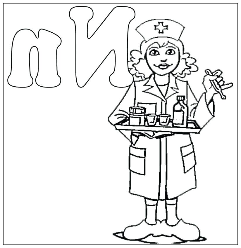 824x850 Nurse Coloring Pages Nurse Coloring Pages Also Female Doctor