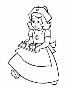 236x292 Top Free Printable Nurse Coloring Pages Online Nurses Week