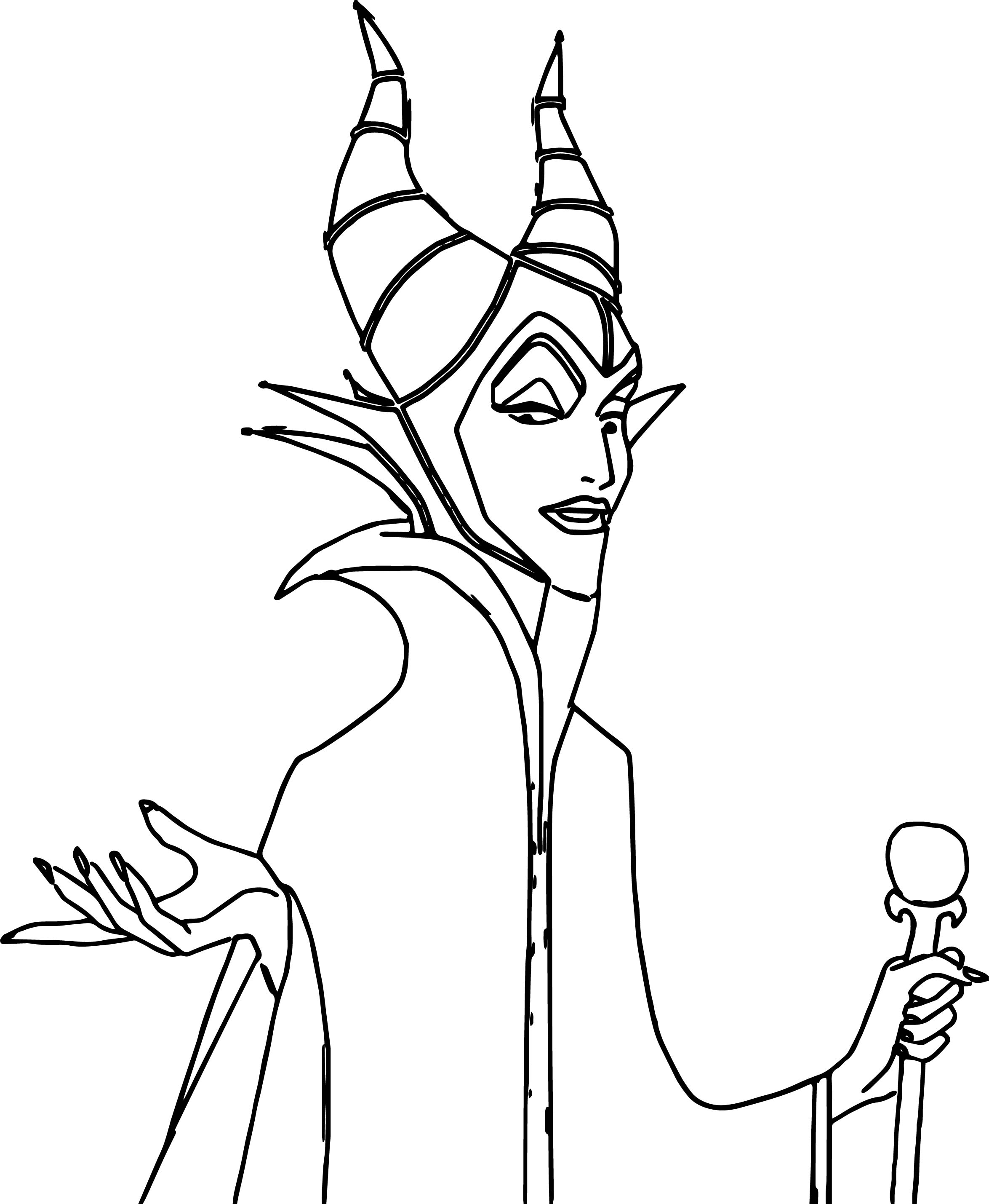 2349x2858 Hello Maleficent Coloring Page In Pages