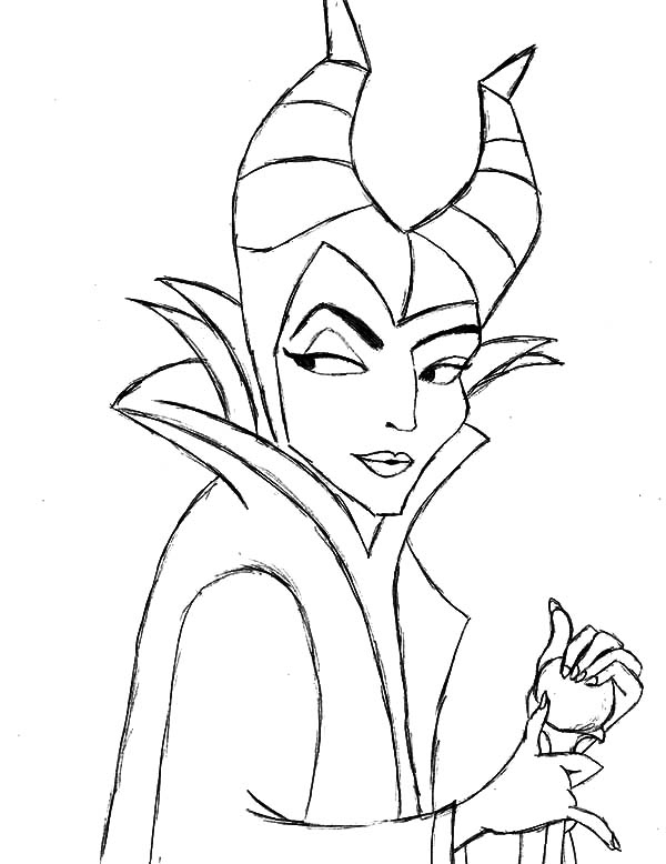 600x778 Maleficent Coloring Pages Fresh Maleficent Coloring Pages Coloring