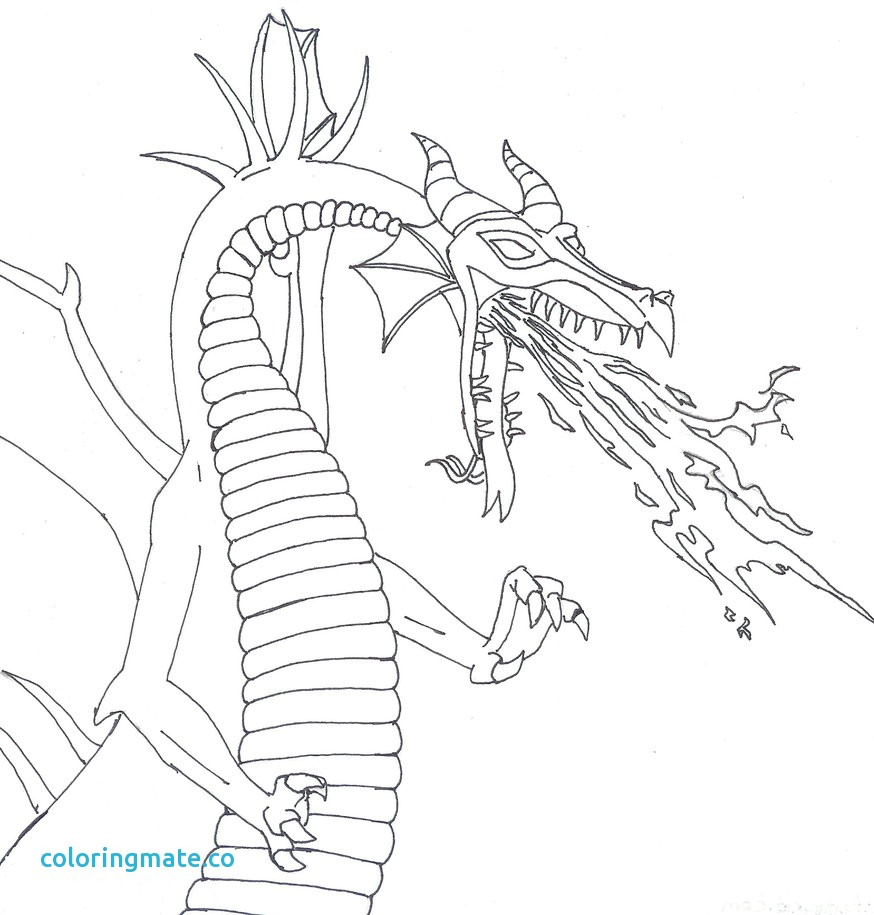 874x915 Maleficent Dragon Coloring Pages