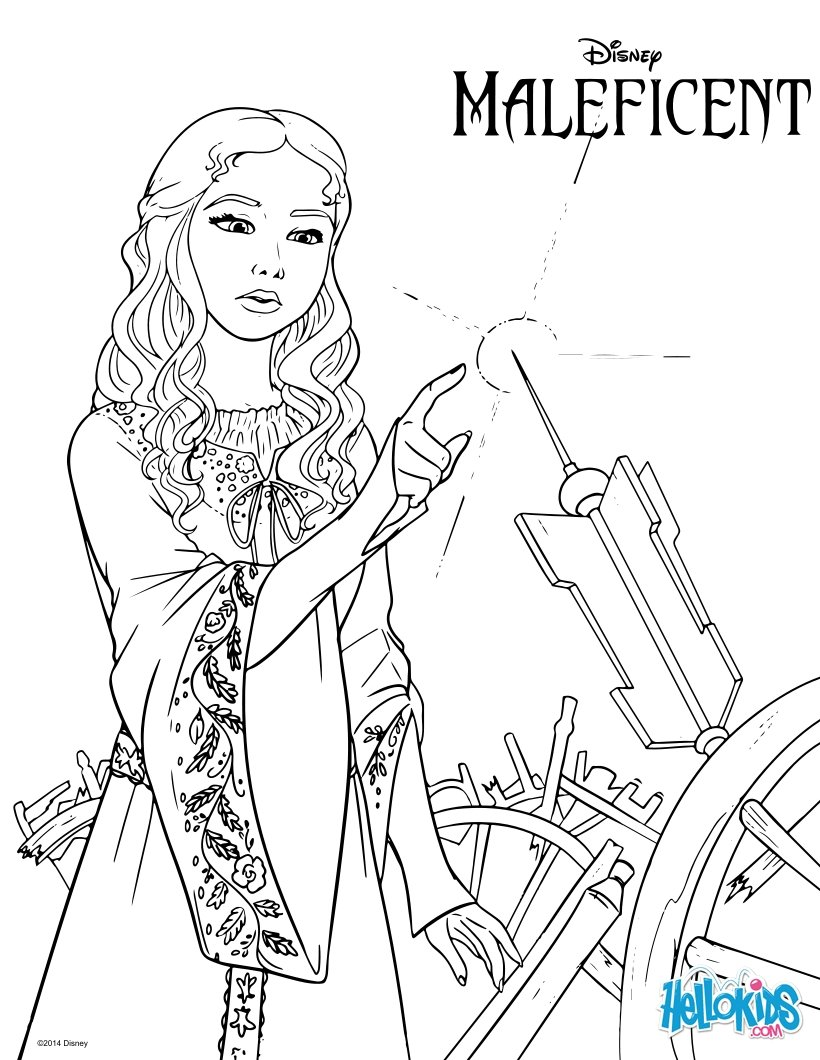 820x1060 Maleficent Coloring Pages