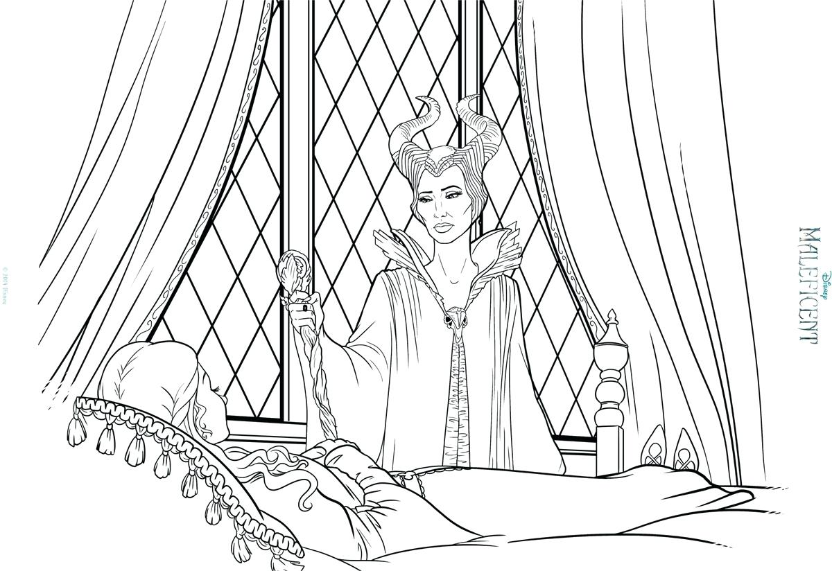 1200x824 Young Maleficent Coloring Pages And Princess Aurora A Online