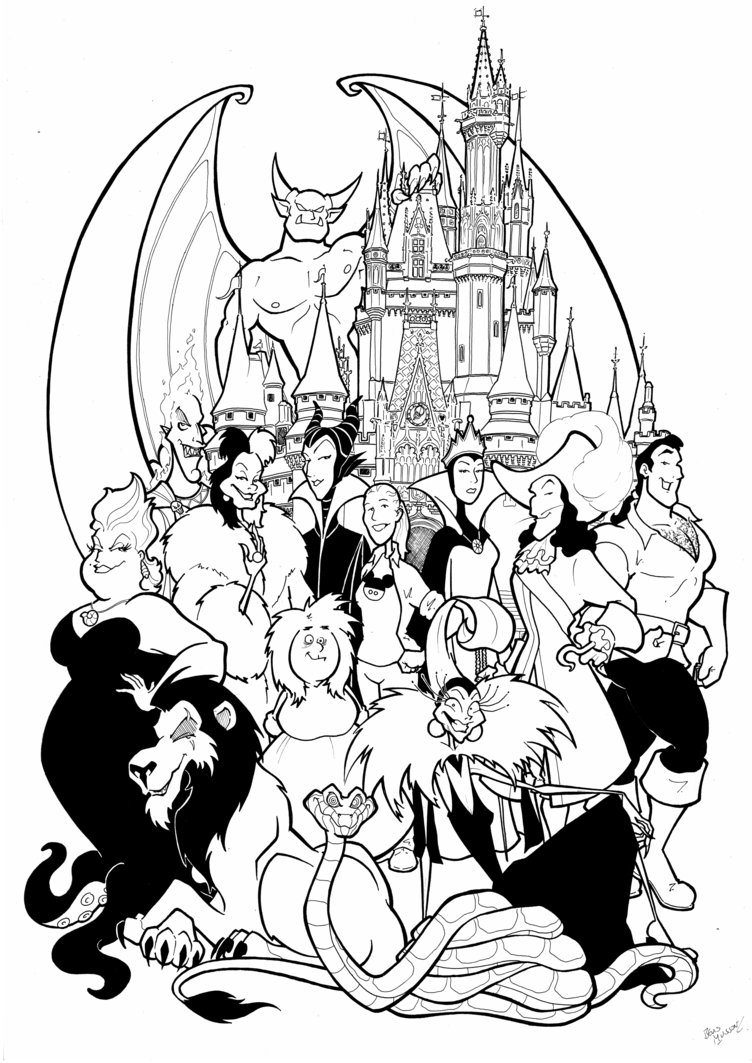 752x1063 Maleficent Coloring Pages Bltidm Free Of Disney Villains