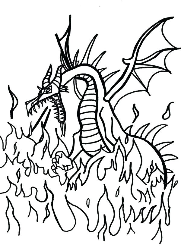 600x823 Maleficent Coloring Pages Maleficent Dragon Coloring Pages