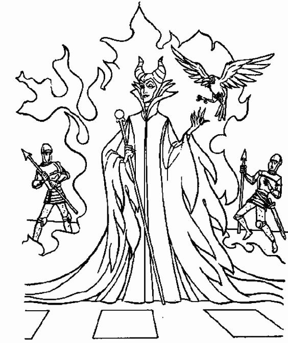 564x670 Maleficent Coloring Pages Photograph Maleficent Dragon Castle