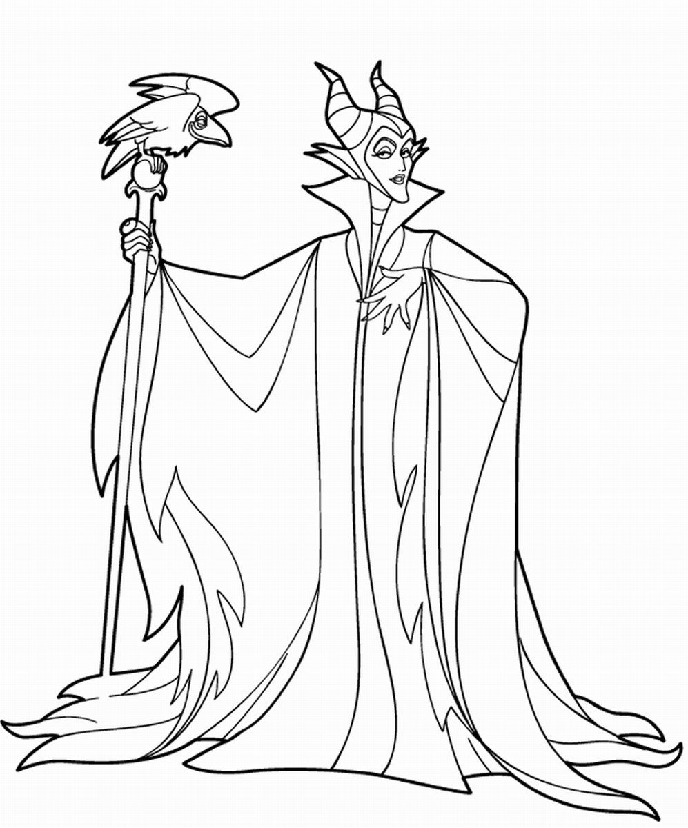 997x1200 Disney Maleficent Coloring Pages Free To Color With And Itgod Me