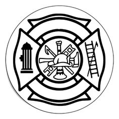 236x236 Maltese Cross Coloring Pages Fire Safty Maltese