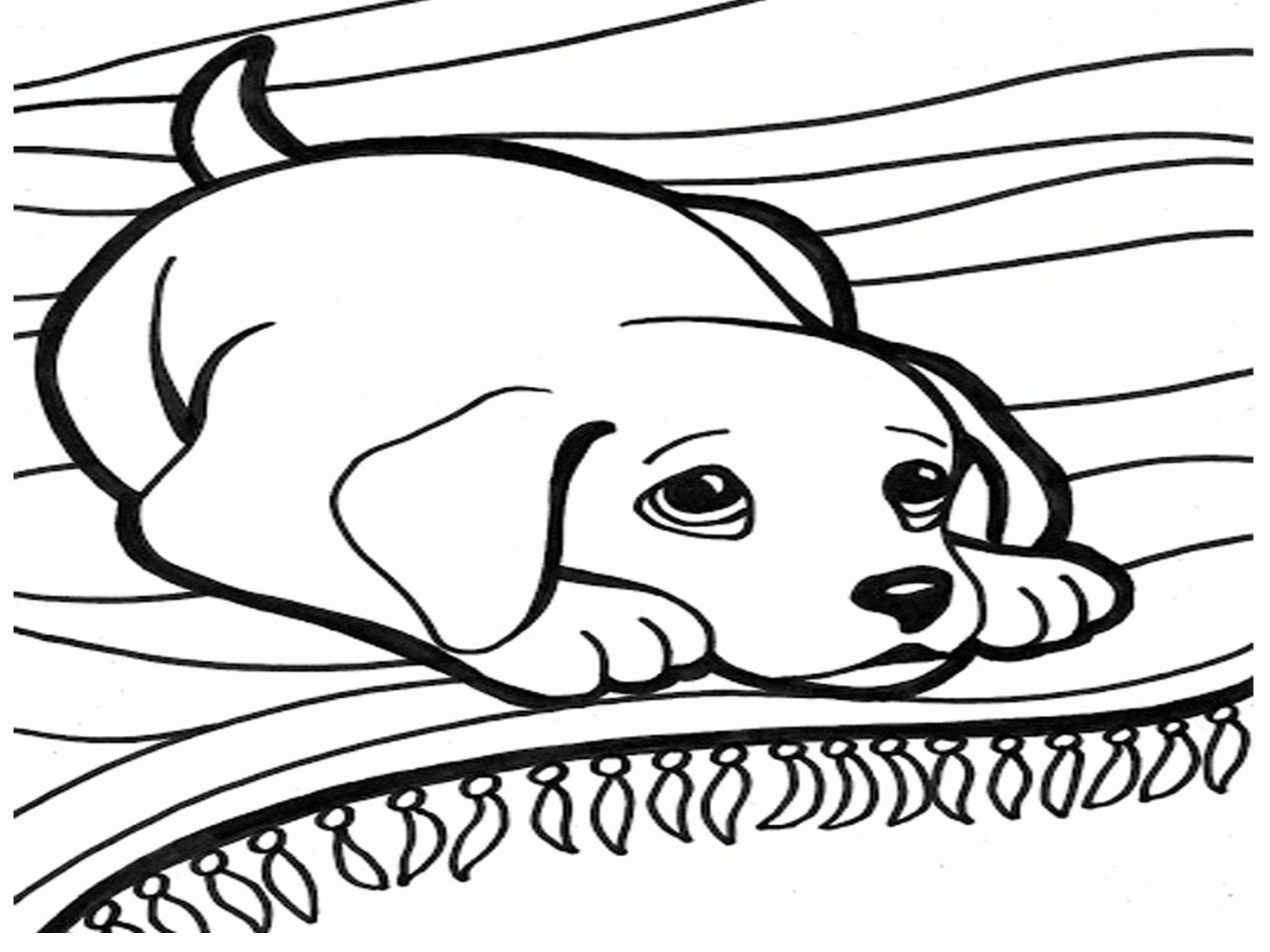 1400x1050 Printable Dog Coloring Pages Images Inspirations Dogsee Short Hair