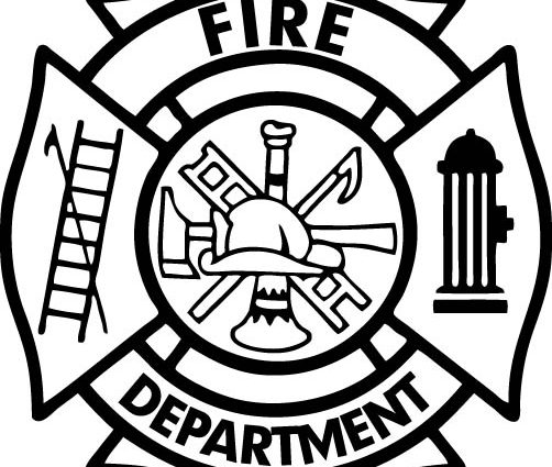 502x425 Firefighter Badge Coloring Page Maltese Cross Vector Art Free