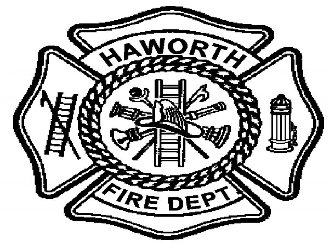 1280x960 Fire Dept Coloring Pages Haworth Maltese Cross
