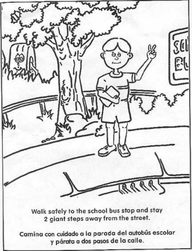 640x837 Fire Station Coloring Pages For Kids