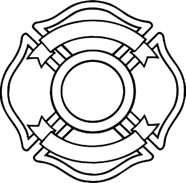 600x590 Maltese Cross Coloring Pages Batch Coloring
