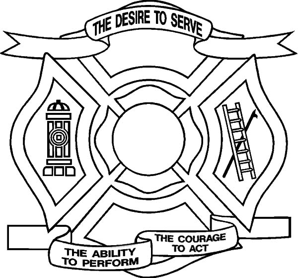 600x559 The Desire To Derve Maltese Cross Coloring Pages Batch Coloring
