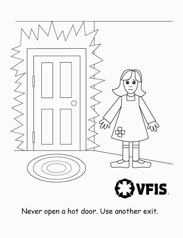 612x792 Badge Coloring Page