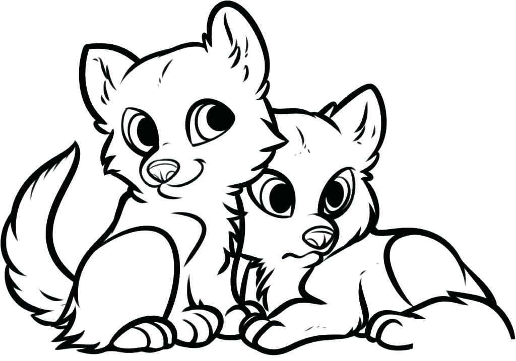 1024x717 Print Coloring Pages Animals Comely Cute Animal Pictures To Print