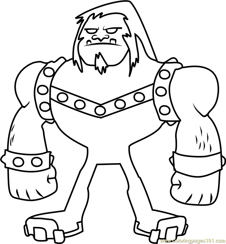 741x800 Mammoth Coloring Page