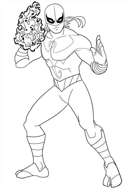 565x792 Kids N Coloring Pages Of Ultimate Spider Man