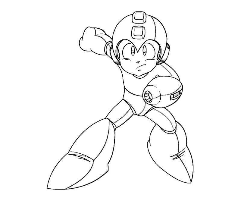 800x667 Mega Man Coloring Pages Mega Man Coloring Page Coloring Home