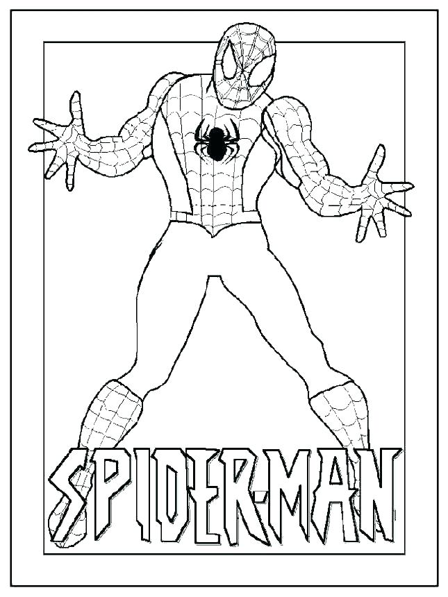 645x860 Spider Man Coloring Pages Spider Man Coloring Pages Coloring
