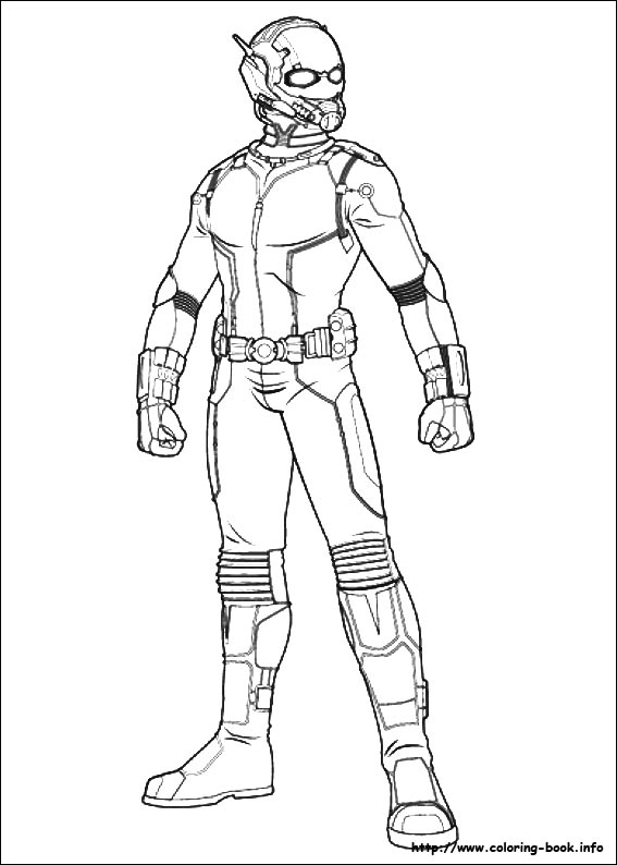 567x794 Ant Man Coloring Pages On Coloring