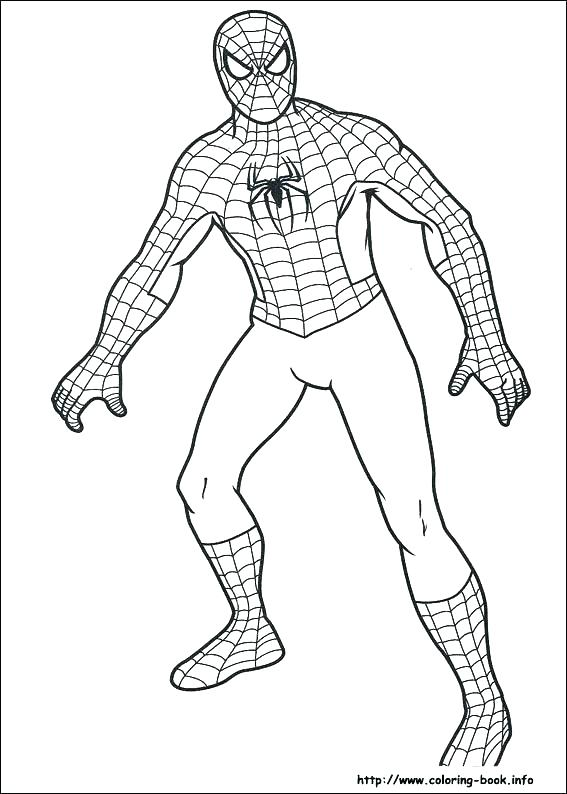 567x794 Spider Man Color Pages Free Coloring Sheets Great Free Printable