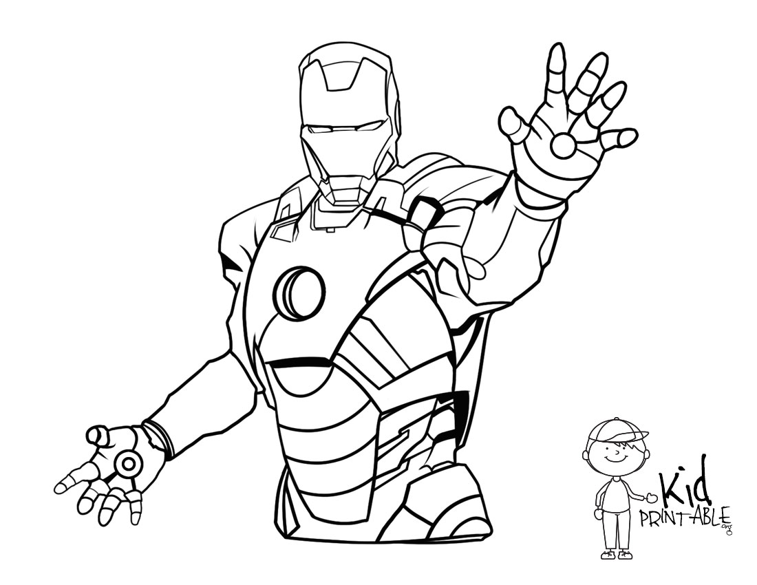 1100x850 Finest Iron Man Landscape Iron Man Coloring Pages On With Hd